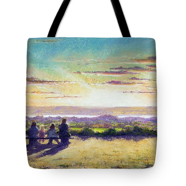 The Remains Of The Day Tote Bag by Anthony Rule