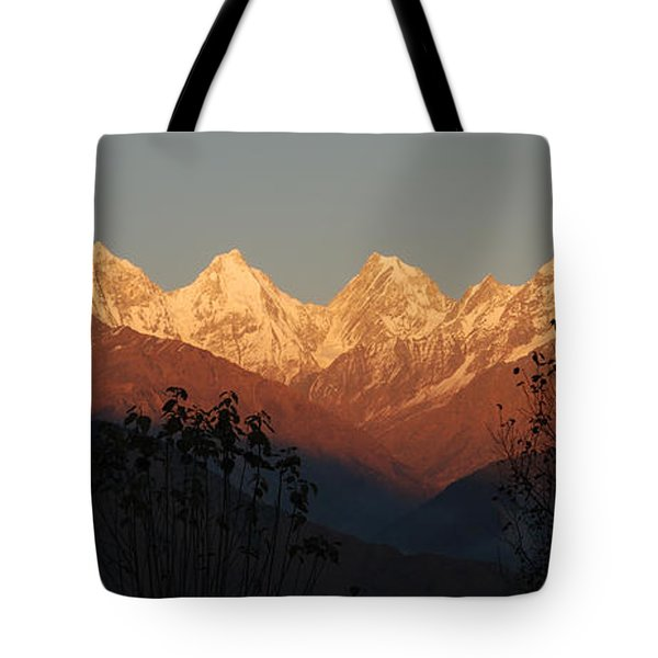 The Rendezvous. A Panorama. Tote Bag