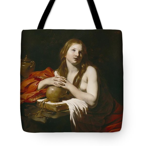 The Repentant Magdalene Tote Bag by Nicolas Regnier