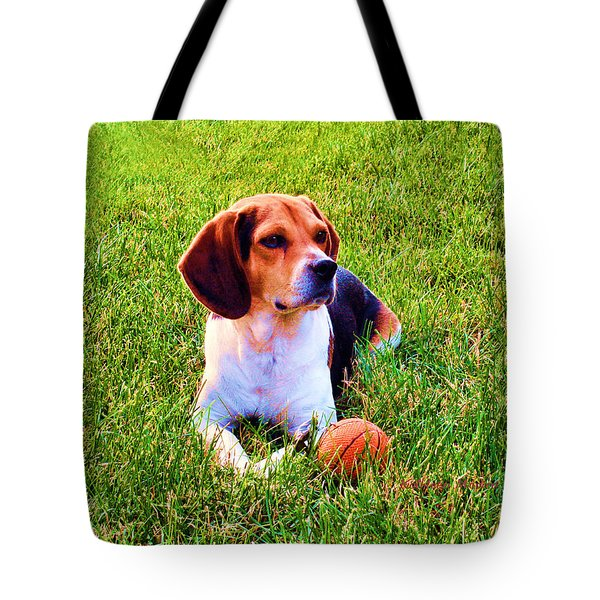 The Reserved Beagle Tote Bag