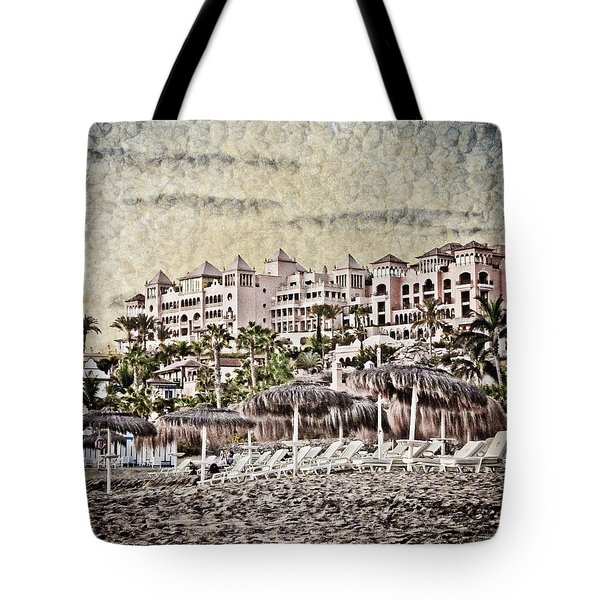 The Resort Beach Tote Bag by Loriental Photography