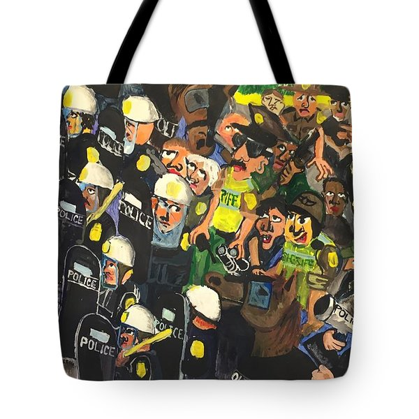 The Response  Tote Bag by Jame Hayes
