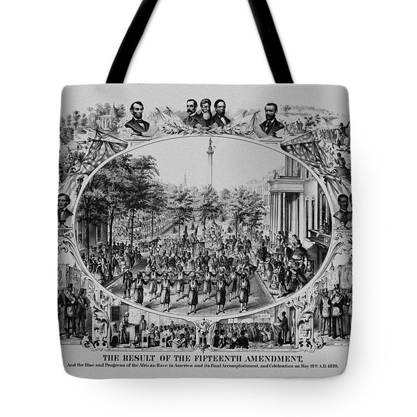 The Result Of The Fifteenth Amendment Tote Bag