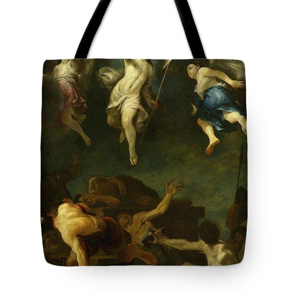 The Resurrection Of Christ Tote Bag