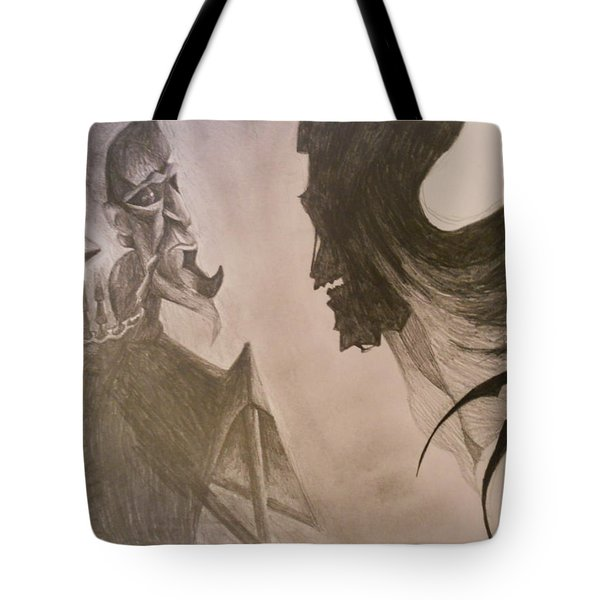 The Resurrection Stone Tote Bag by Lisa Leeman