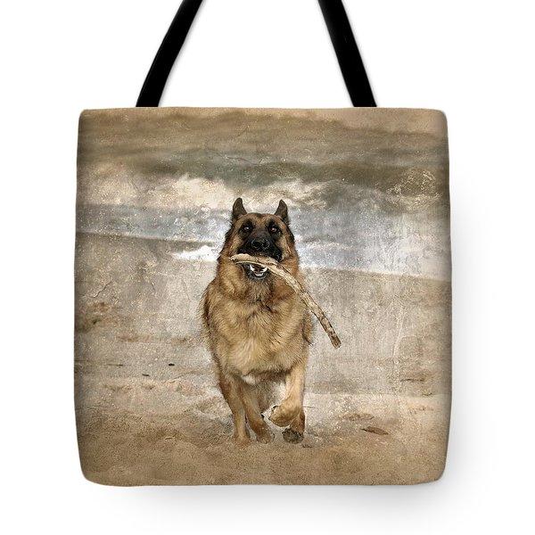 The Retrieve Tote Bag by Angie Tirado