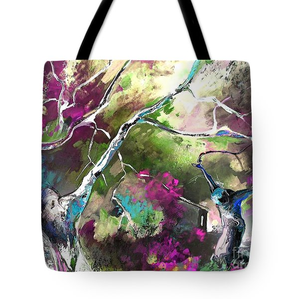The Return Of The Prodigal Son Tote Bag by Miki De Goodaboom