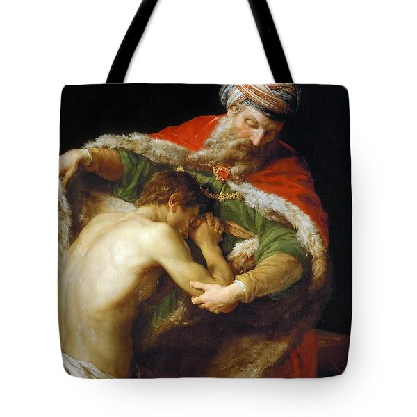 The Return Of The Prodigal Son Tote Bag