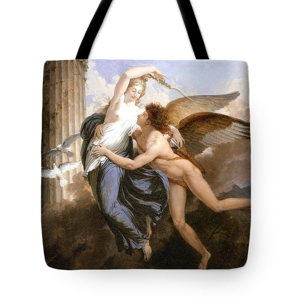 The Reunion Of Cupid And Psyche Tote Bag