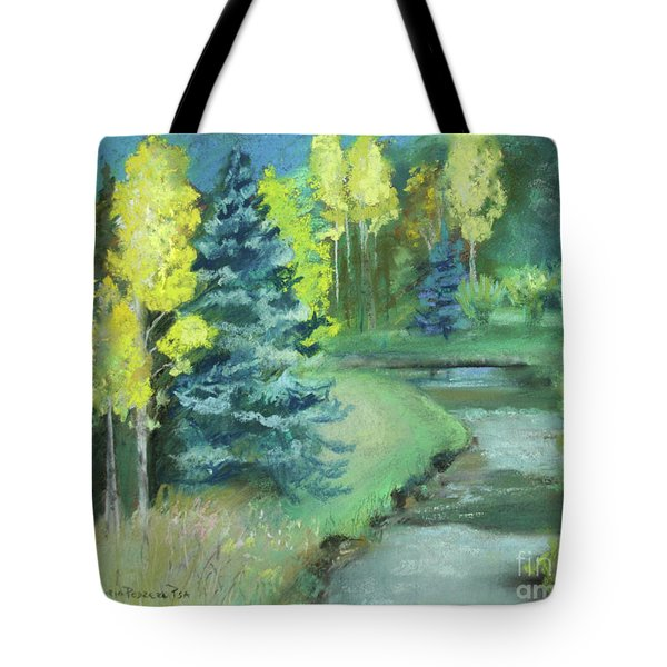 Tote Bag featuring the drawing The Reunion  by Robin Maria Pedrero