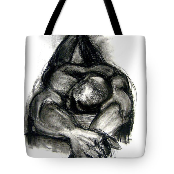 Tote Bag featuring the drawing The Revolutionary Act by Gabrielle Wilson-Sealy