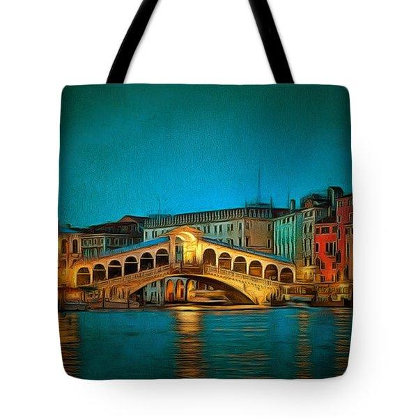 The Rialto Bridge Tote Bag