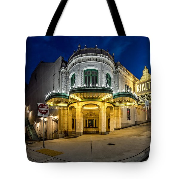 The Rialto Theater - Historic Landmark Tote Bag