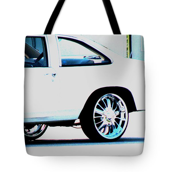 The Ride Tote Bag by Amanda Barcon