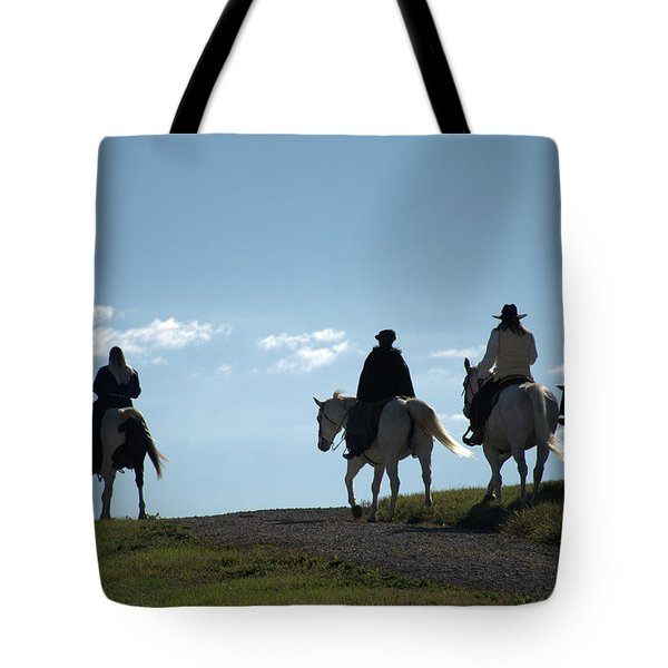 The Ride Tote Bag by Tim McCullough