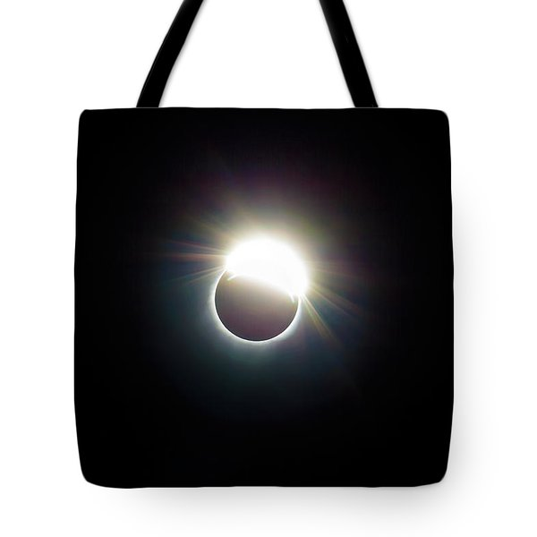 The Ring Of 2017 Solar Eclipse Tote Bag by David Gn