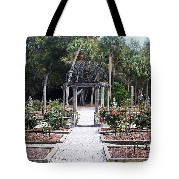 The Ringling Rose Garden Tote Bag