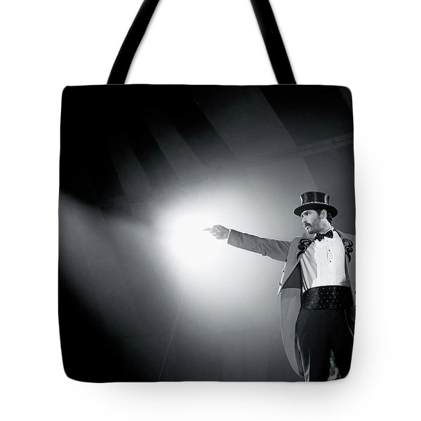 The Ringmaster Tote Bag by Glennis Siverson