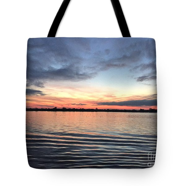 The Ripple Effect Tote Bag