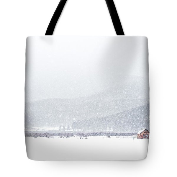 The Rise Of Winter Tote Bag
