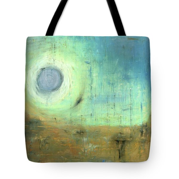 Tote Bag featuring the painting The Rising Sun by Michal Mitak Mahgerefteh