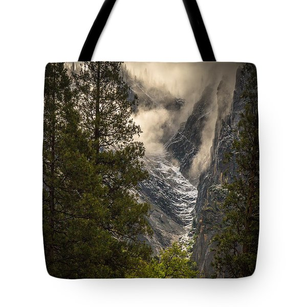 The Rising Tote Bag by Tim Bryan