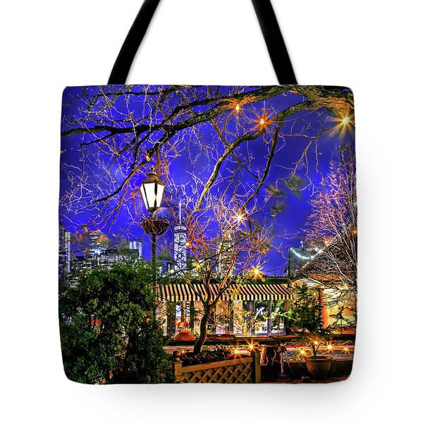The River Cafe Tote Bag