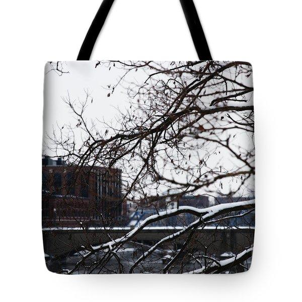 The River Divide Tote Bag
