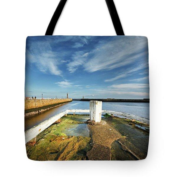 The River Esk Tote Bag