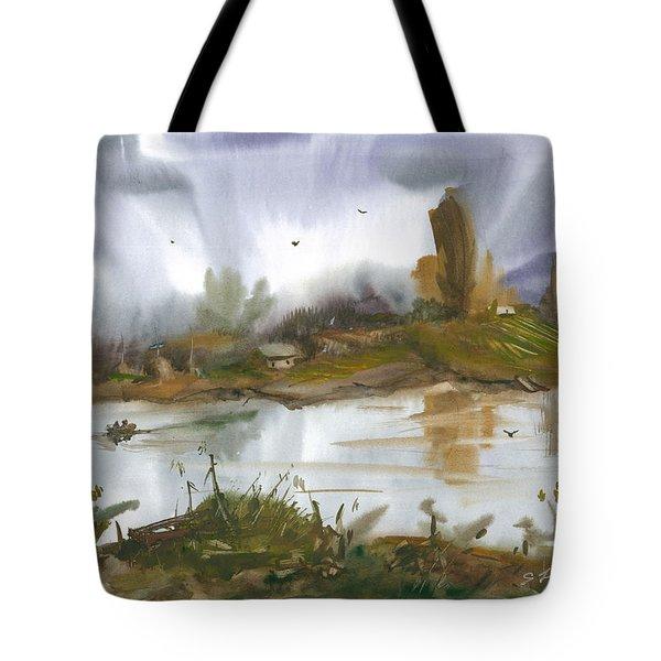 The River Nistru II Tote Bag