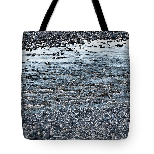 Tote Bag featuring the photograph The River Of Youth by Helga Novelli