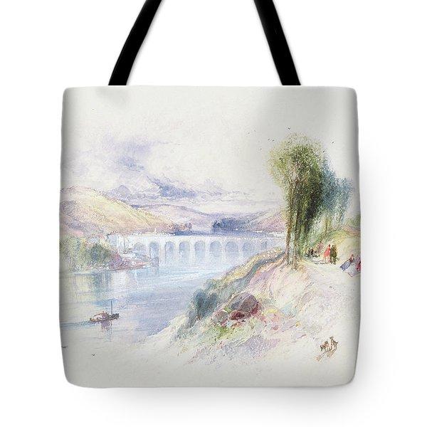 The River Schuykill Tote Bag by Thomas Moran