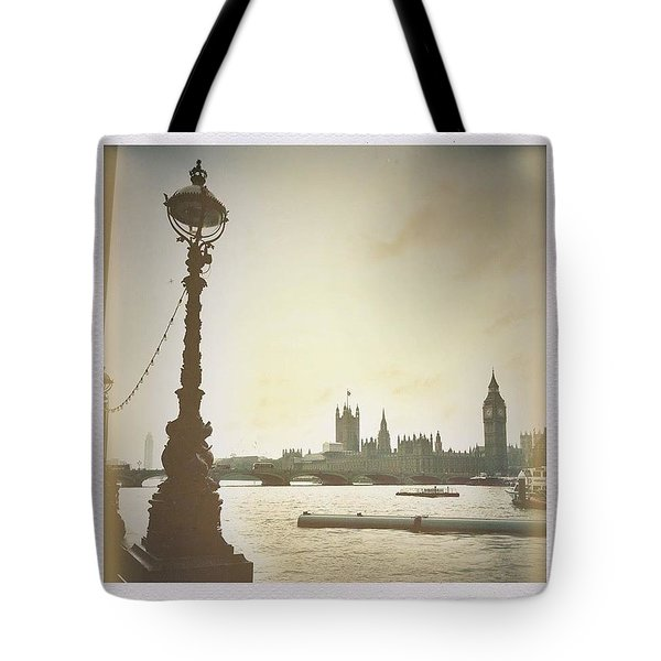 The River Thames  Tote Bag