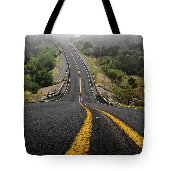 The Road Goes On Forever And The Party Never Ends Tote Bag