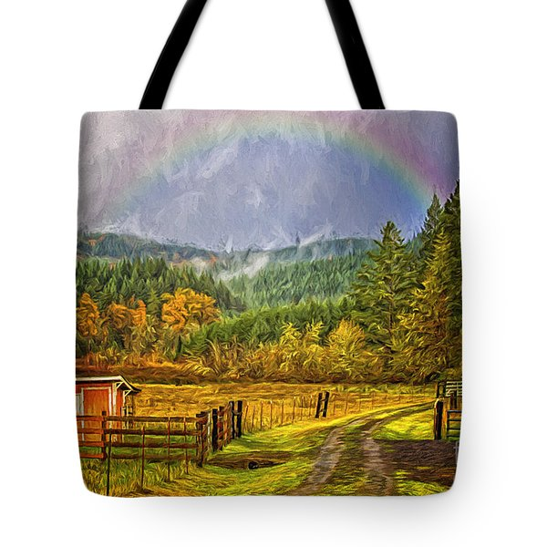 The Road Home Tote Bag by Billie-Jo Miller