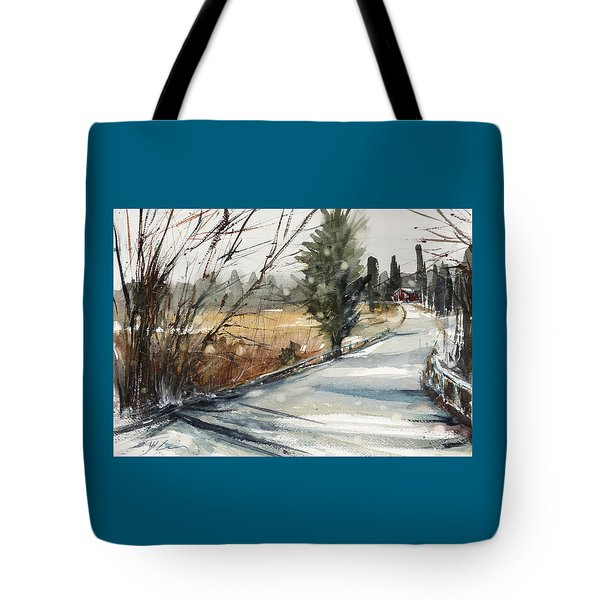 The Road Home Tote Bag by Judith Levins