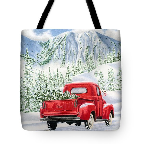 The Road Home Tote Bag by Sarah Batalka