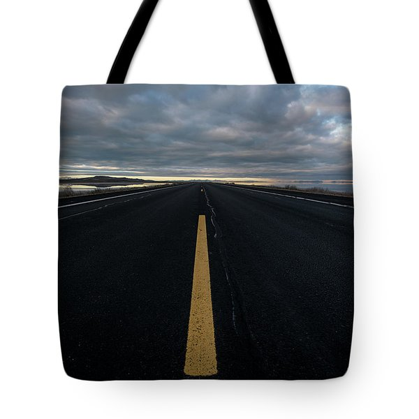 The Road Tote Bag by Justin Johnson