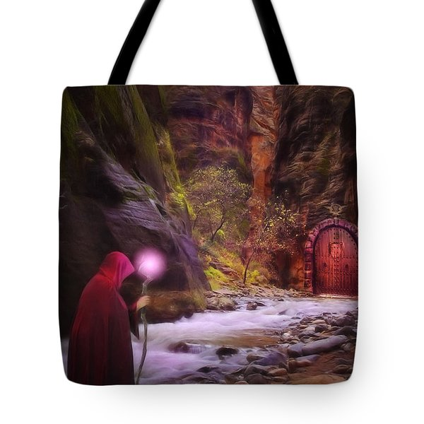 The Road Less Traveled Tote Bag by John Edwards