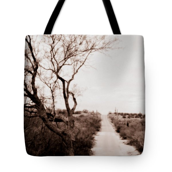 The Road Less Traveled Tote Bag