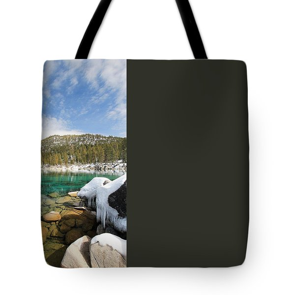 Tote Bag featuring the photograph The Road Less Traveled by Sean Sarsfield
