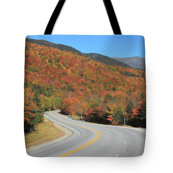The Road Through Pinkham Notch Tote Bag