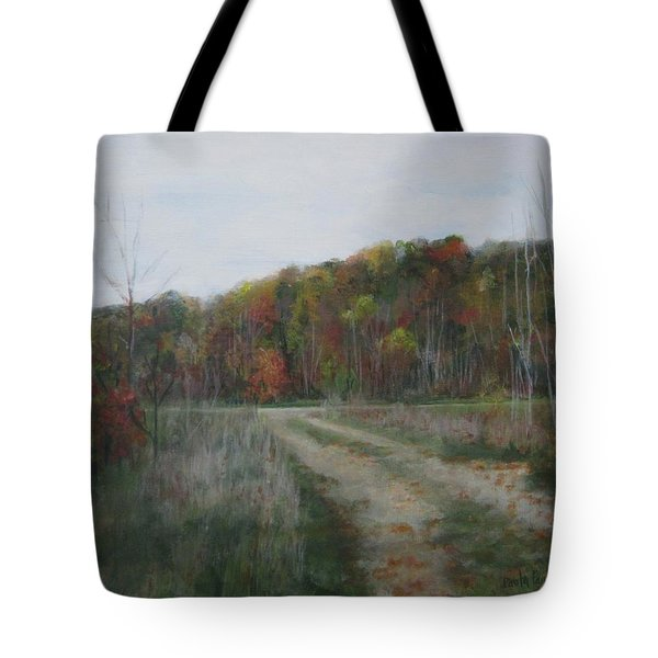 The Road To Autumn Tote Bag