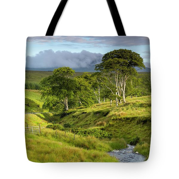 The Road To Carndonagh Tote Bag by Joe Doherty