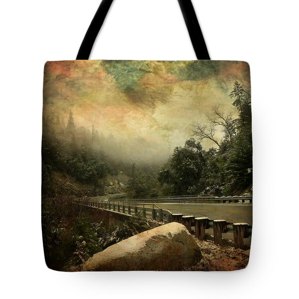 The Road To Everywhere Tote Bag