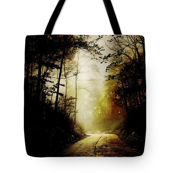 The Road To Hell Take 2 Tote Bag