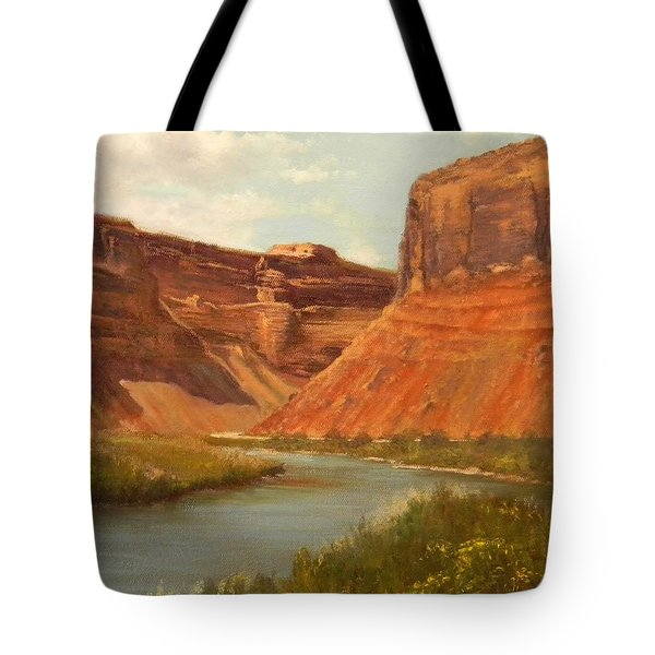 The Road To Moab Tote Bag
