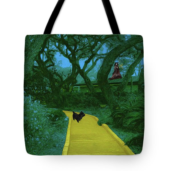 The Road To Oz Tote Bag by Methune Hively