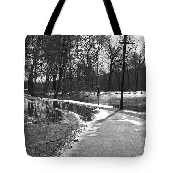 The Road To Paradise Tote Bag
