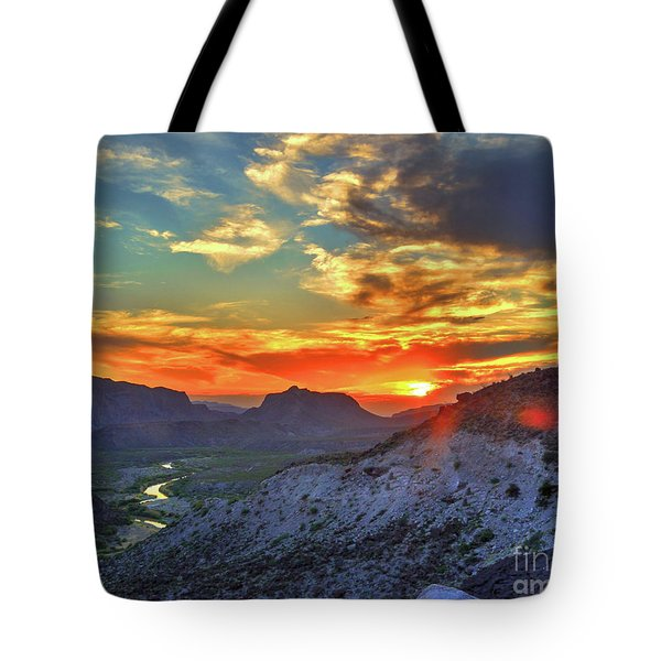 The Road To Presidio Tote Bag